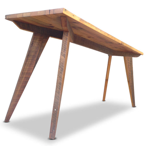 Modern Rustic Mid Century 2.5m Bench Bar Table Kitchen Island Workbench