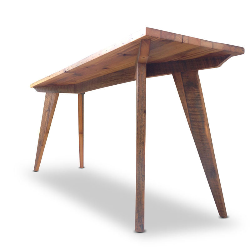 Rustic Modern Kitchen Table: Solid Timber Rustic High Bench Table Desk Kitchen Island