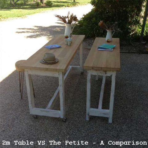 2m Table VS The Petite - A Comparison