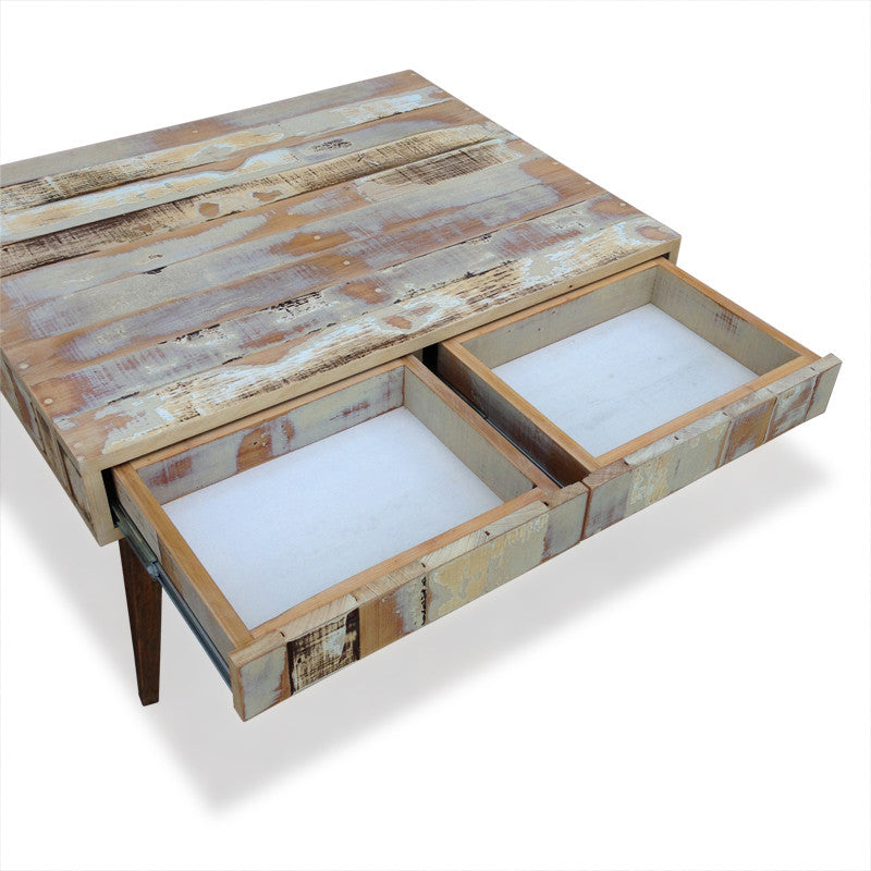 Coffee Table, Buy Timber Coffee Table W/ Drawers Online