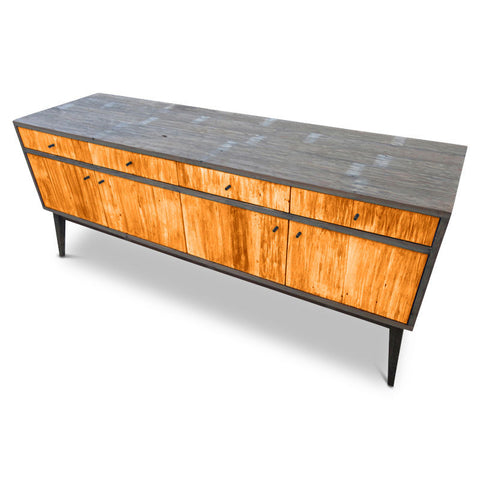 """Once Upon A Queenslander"" Eco Recycled Sideboard / Entertainment Unit in Orange"