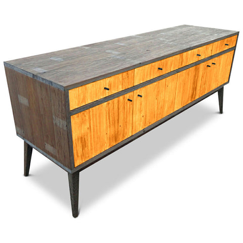 """Once Upon A Queenslander"" Eco Recycled1960s Retro Classic Mid Cnetury Vinatge Scandinavian Sideboard / Entertainment Unit in Orange"