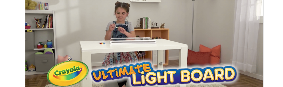 Crayola Ultimate Light Board christmas gift for kids