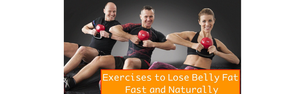 The best scientific exercises to lose belly fat fast and naturally