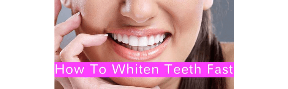 How To Whiten Teeth Fast with Baking Soda and Lemon