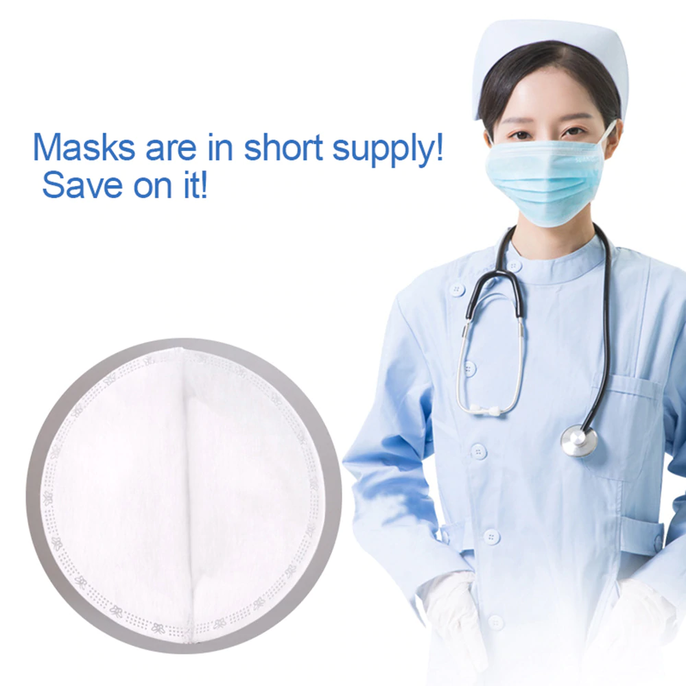 3-Layers Disposable Face Masks Filter 3D Structure for Adult&Kid
