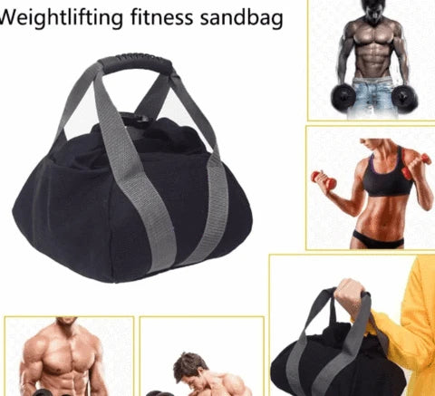 Adjustable Sand Bag Kettle Bell Weight Lifting Home Fitness Accessories