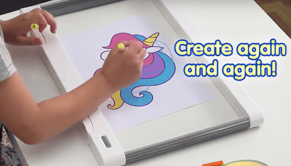 LED Light Up Drawing Surface Gift for Kids