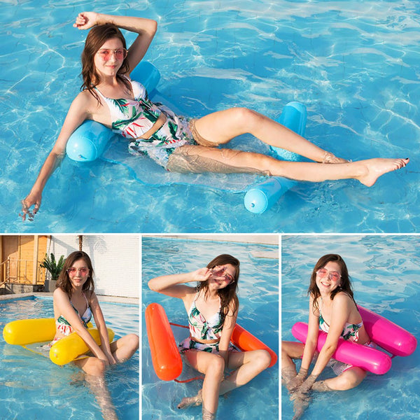 Foldable Water Hammock Beach Lounger Floating Sleeping Bed
