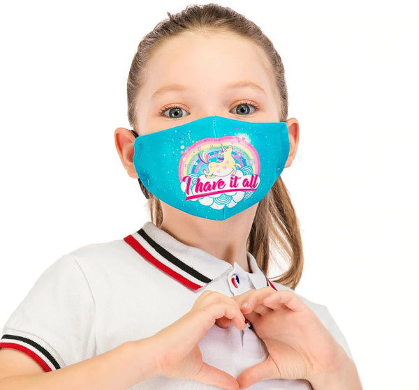 Reusable anti dust Flu mouth Mask for Kids