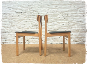 Duo de Chaises Vintage Scandinaves