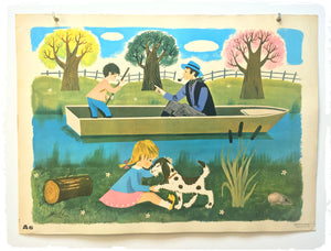 Affiche Scolaire Fernand Nathan 1965 A6