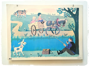 Affiche Scolaire Fernand Nathan 1965 A8