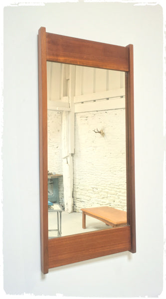 Grand Miroir Vintage Moderniste Scandinave