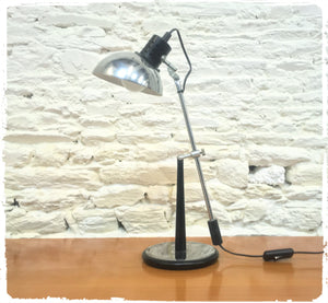 Grande Lampe de Table Vintage Aluminor