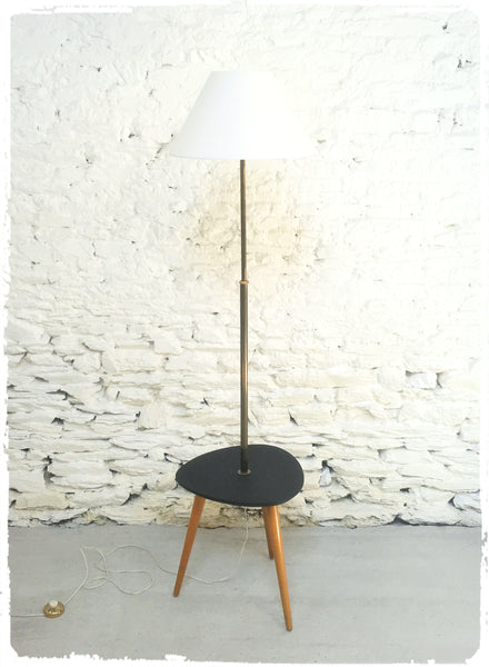 Lampadaire Vintage Table Tripode