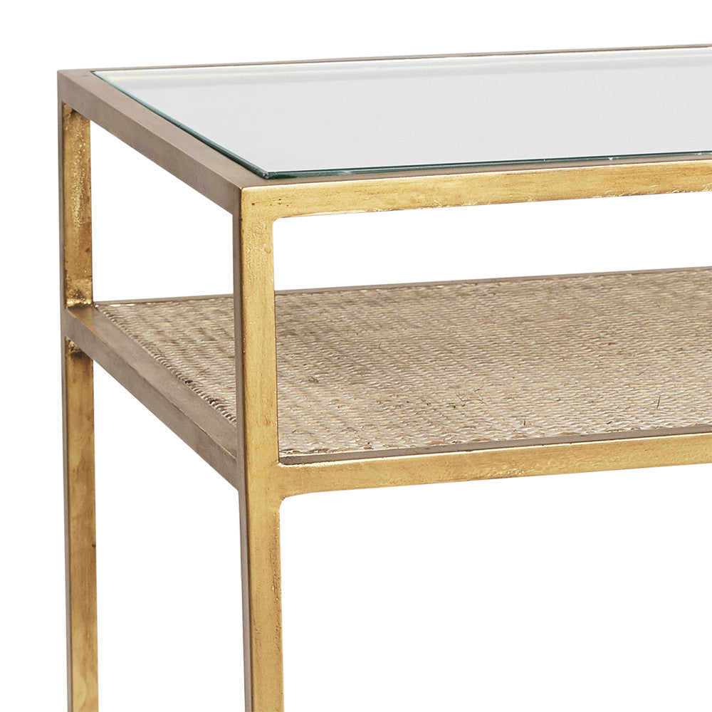 Manhattan Glass Side Table