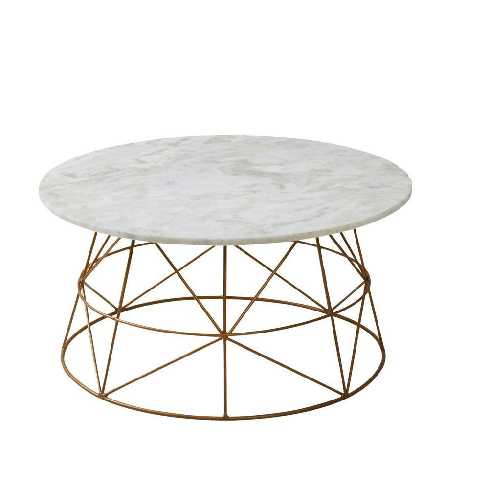 Klein Marble Coffee Table