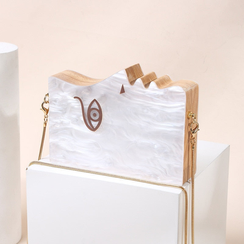 Cassandre Casual Clutch