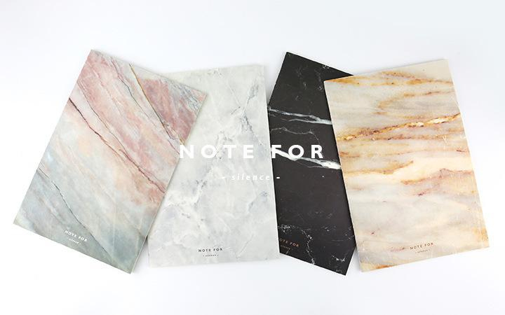 Marble Soft Cover A5 Notebook