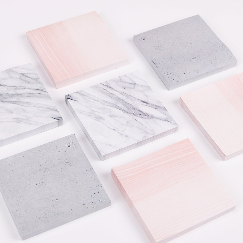 Marble Adhesive Notebook