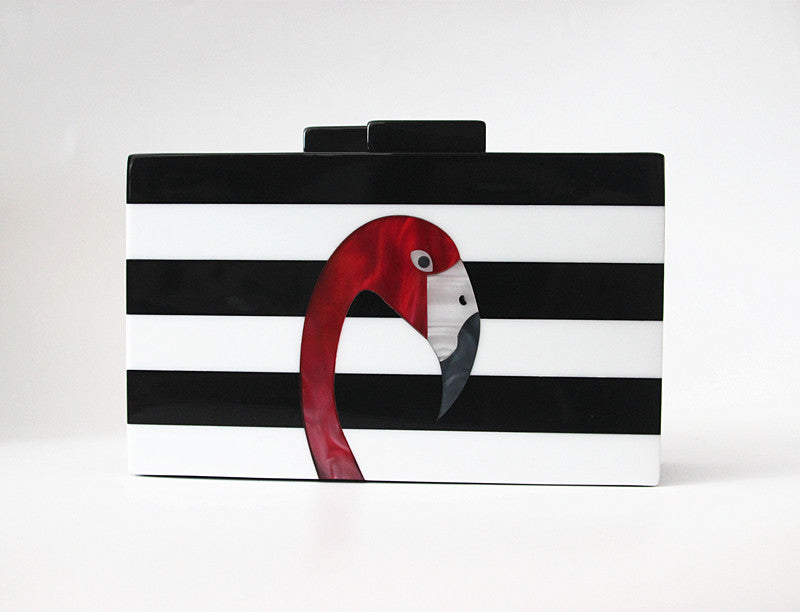 Buchanan Flamingo Clutch