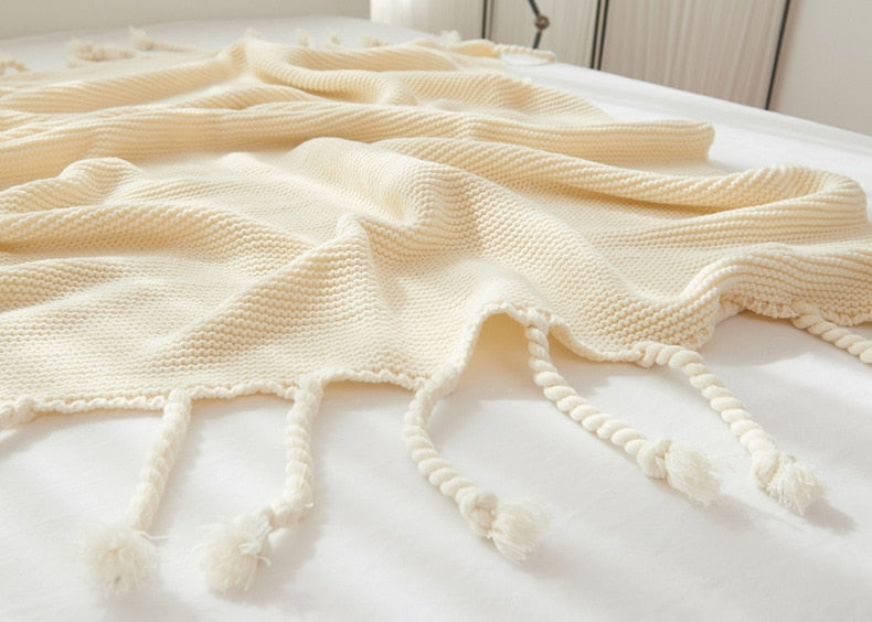 Starlite Knitted Throw