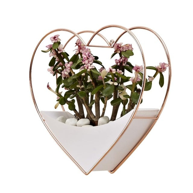 Amore Heart Wall Planter