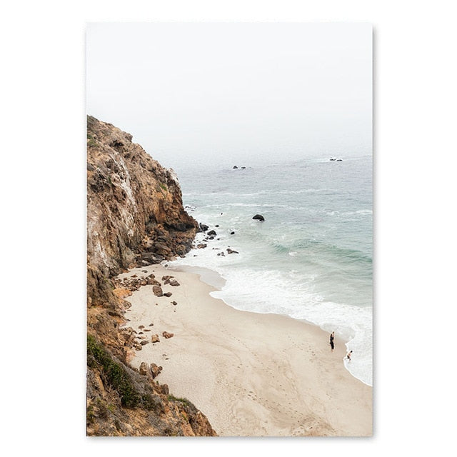 Hidden Cove Canvas Art Print
