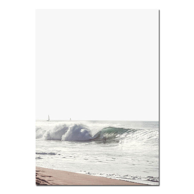 Finn Beach Canvas Art Print
