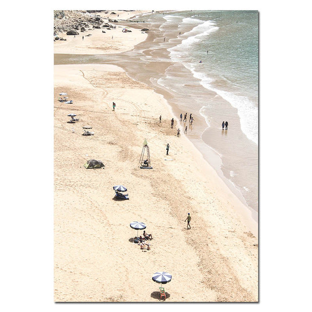 Echo Beach Canvas Art Print
