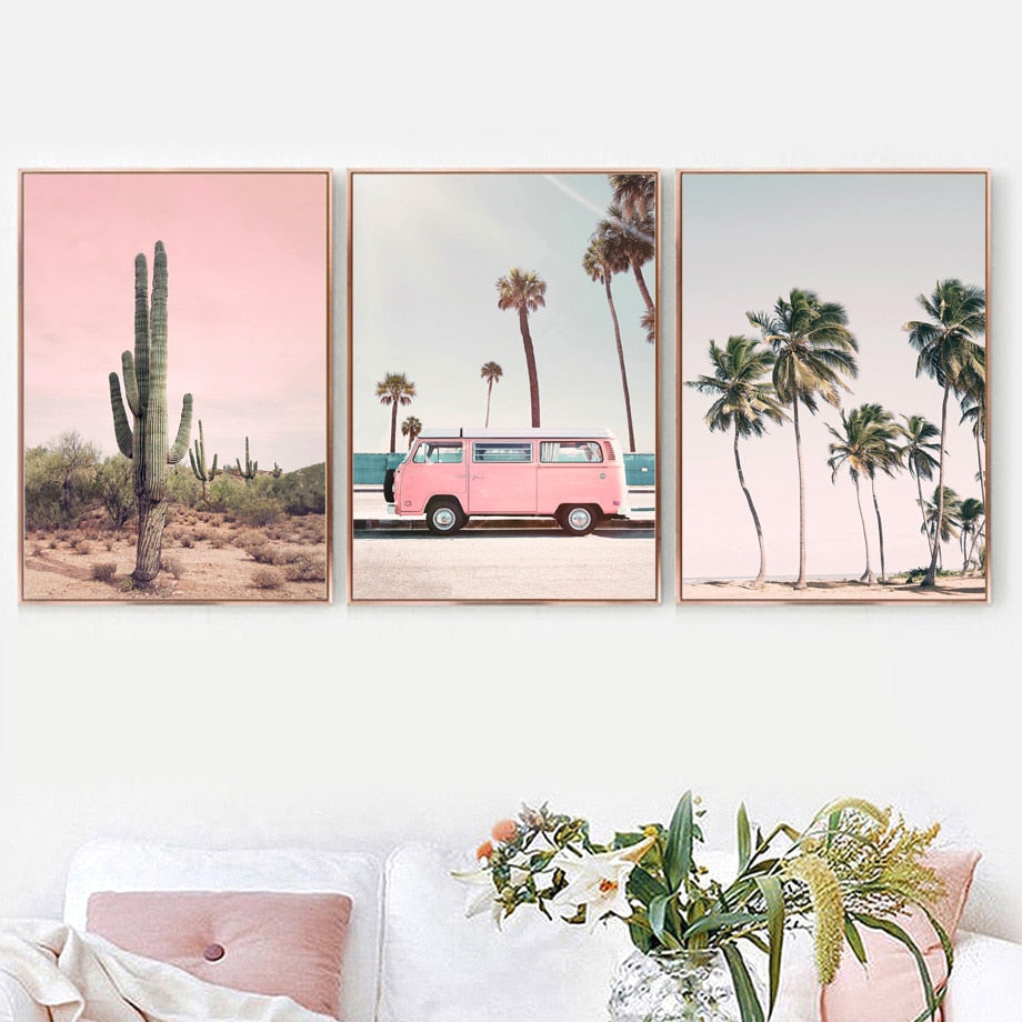 Miami Combi Canvas Art Print