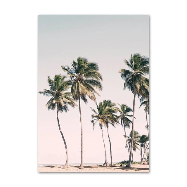 Miami Breeze Canvas Art Print