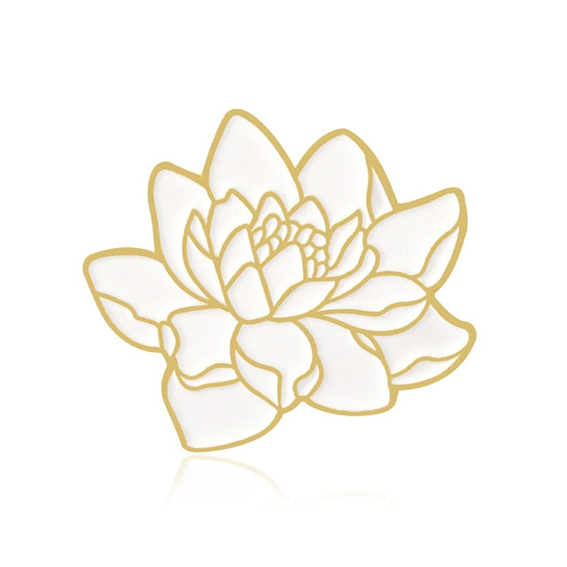 Ocean Lotus Enamel Pin