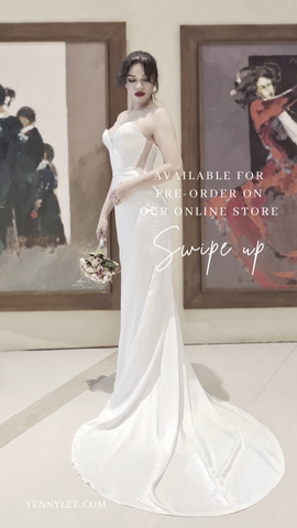 7 Tips How to Finding your Wedding Dress Online - Yenny Lee Bridal Couture