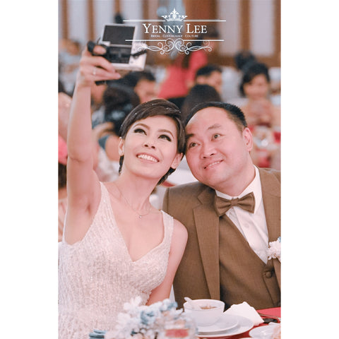 SANTI & DANIEL wedding - yenny lee bridal couture