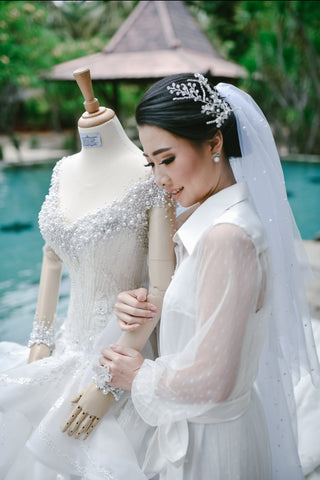 Indonesian Bridal Designer That Design Dreamy Wedding Gowns - Yenny Lee Bridal Couture