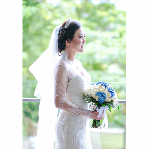 MELISSA & ERIC wedding - yenny lee bridal couture