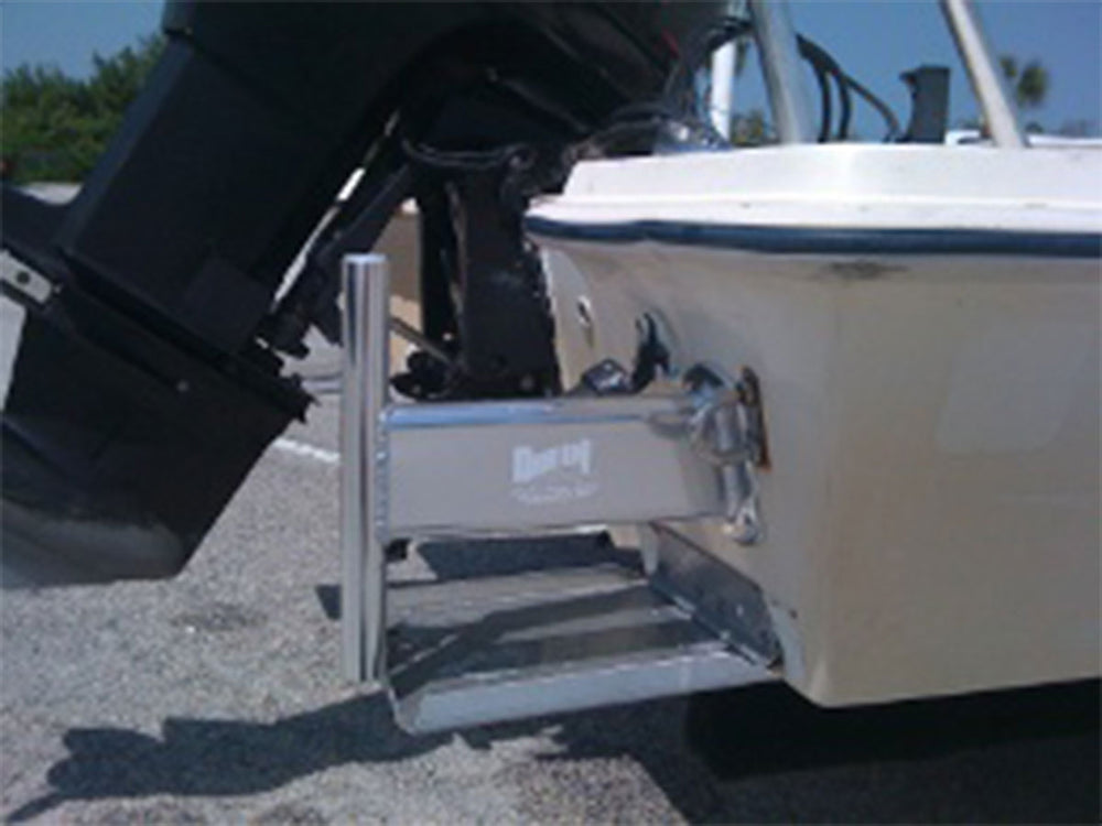 10 Inch Transom Offset & 6 Inch Rise Deck Bow Mount