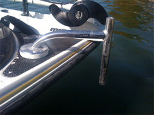 3 Inch Deck Rise Bow Mount & 10 Inch Transom Mount