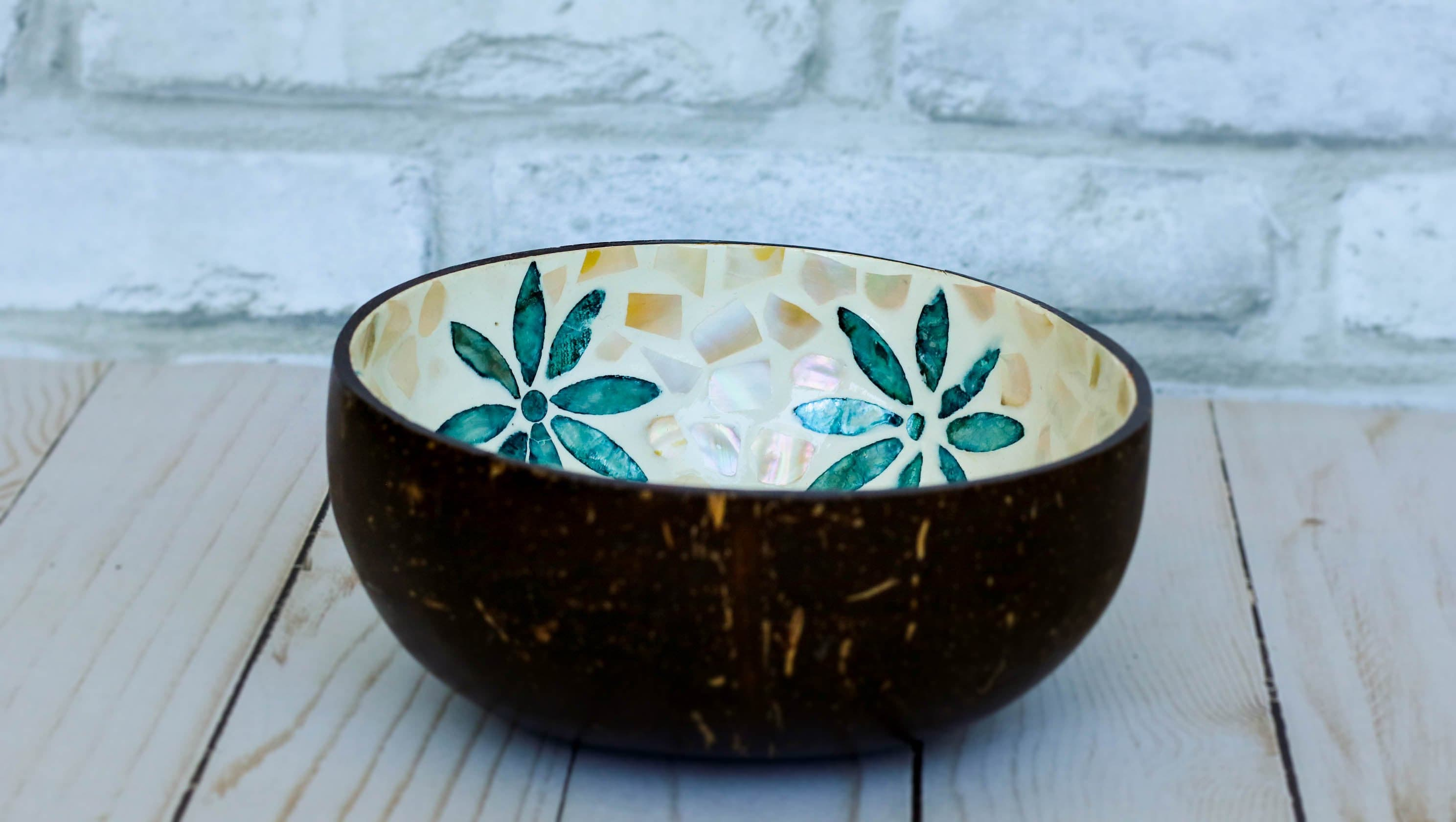 The Blue Wildflower | Coconut Bowl