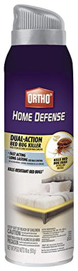 Ortho Home Defense Dual-Action Bed Bug Killer Aerosol Spray (18 oz)