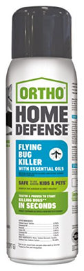 Ortho Home Defense Flying Bug Killer with Essential Oils Aerosol (14 oz. Can)