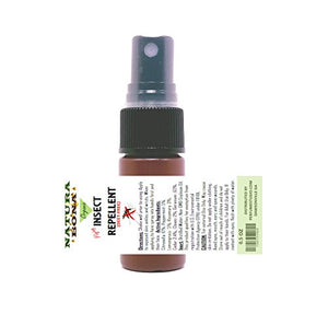 Natura Bona Organic Mosquito Repellent Spray (15 ml Travel Size Bottle)