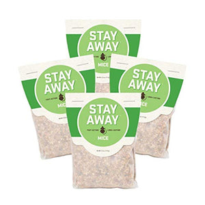 Stay Away All Natural Mice Repellent Pest Control Scent Pouches (12 Pack)