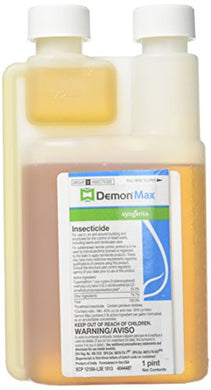 Demon Max Insecticide / Termiticide, 25.3% Cypermethrin (1 Pint)