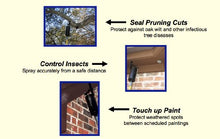 Load image into Gallery viewer, Spectracide Reach 'n Spray Long Reach Aerosol Pest Control Spray Can