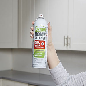 Ortho Home Defense Ant & Roach Killer with Essential Oils (14 oz Aerosol)