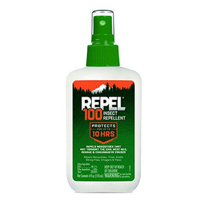 Repel 100 Insect Repellent, Pump Spray, 4-Ounce