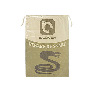 "IC ICLOVER Snake Reptile Bag with Drawstring, 20"" x 28"" Heavy Duty Large Snake Hunting Sack Pouch with Sewn Bottom Corners for Moving Transporting Capturing Hunting Catching Snakes Reptiles"